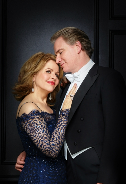 Renee Fleming as Raquel De Angelis and Douglas Sills as Vito De Angelis