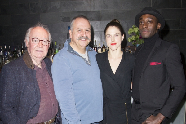David Calder, Stanley Townsend, Amanda Hale and Ivanno Jeremiah  Photo