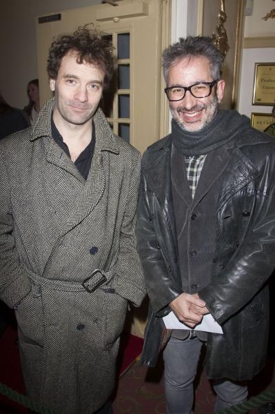 Josh Appignanesi and David Baddiel