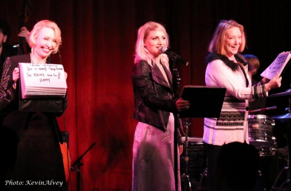 Julie Halston, Annaleigh Ashford and Kristine Nielsen