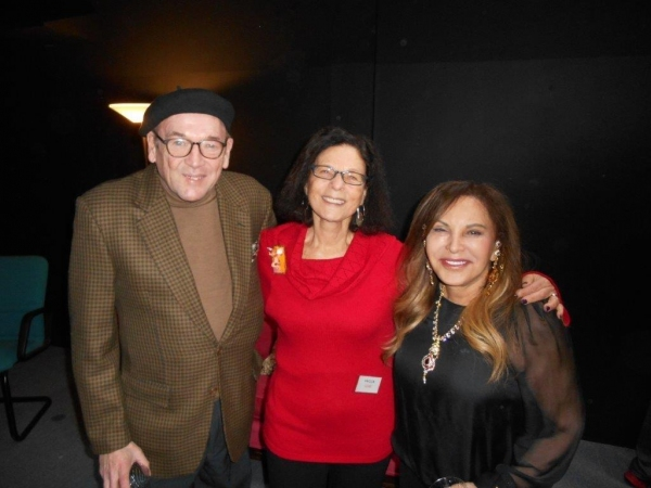 Edward Callaghan, Livia Straus and Carole Feuerman