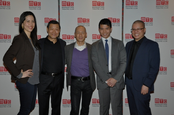 Frances Ya-Chu Cowhig, James Saito, Frances Ju, Telly Leung and Eric Ting (Director)