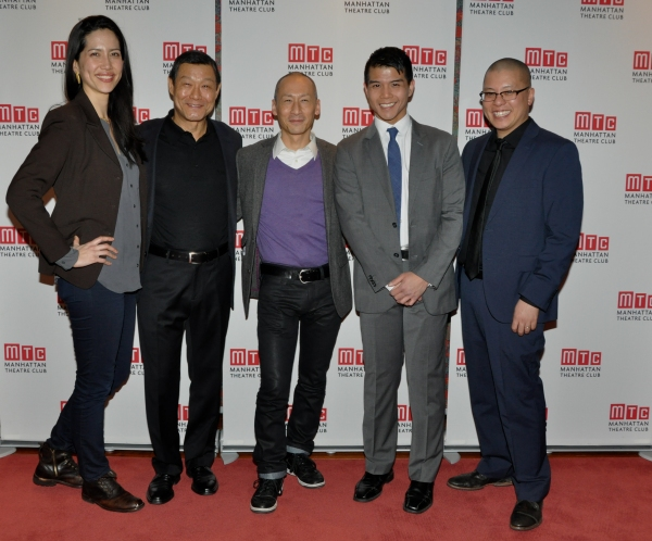 Frances Ya-Chu Cowhig, James Saito, Frances Ju, Telly Leung and Eric Ting