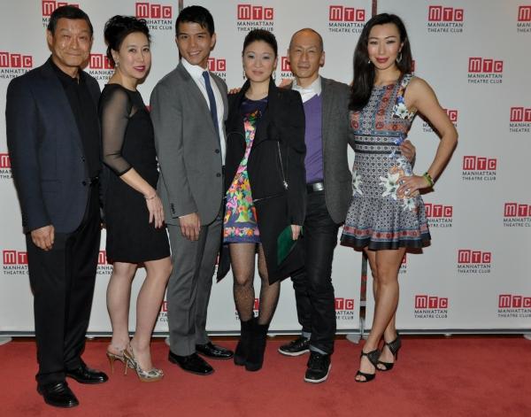 James Saito, Sue Jin Song, Telly Leung, Jennifer Lim, Frances Jue and Jo Mei Photo