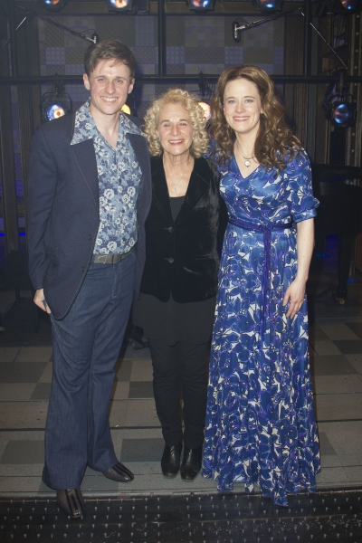 Alan Morrissey, Katie Brayben and Carole King