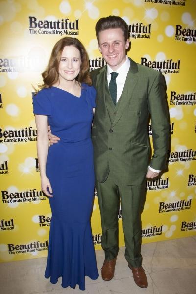 Katie Brayben and Alan Morrissey