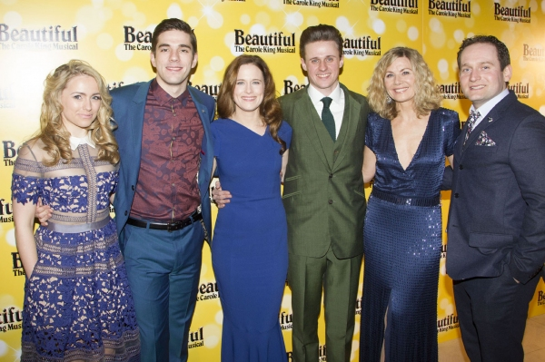 Lorna Want (Cynthia Weil), Ian McIntosh (Barry Mann), Katie Brayben (Carole King), Alan Morrissey (Gerry Goffin), Glynis Barber (Genie Klein) and Gary Trainor (Don Kirshner)