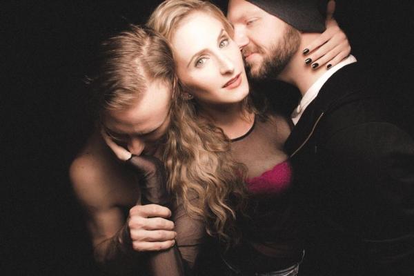 Chris Logan, Amanda Horvath, Matthew Miles Photo