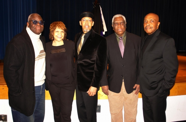 Voza Rivers, Trezana Beverley, Peter J. Fernandez, Woodie King and Roscoe Orman