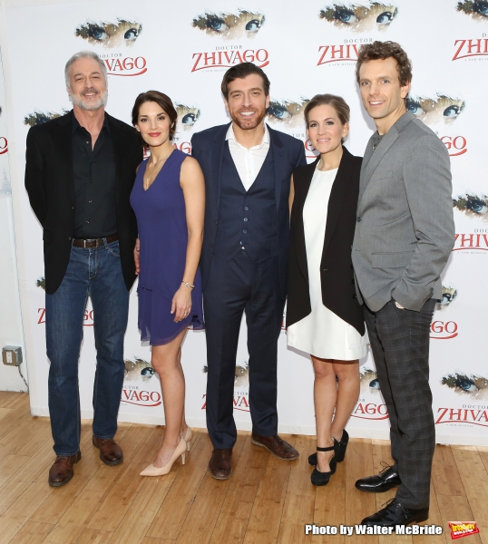 Photo Coverage: Meet the Cast of Broadway-Bound DOCTOR ZHIVAGO- Begins Previews 3/27!