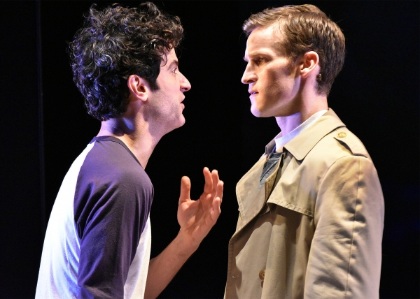 Nik Kourtis (Louis) and Claybourne Elder (Joe)