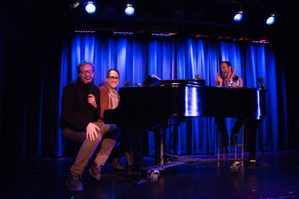 Stephen Tyler Davis, Brian Feinstein and Bobby Cronin Photo
