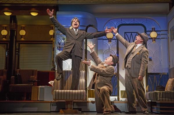 Peter Gallagher (Oscar Jaffee), Michael McGrath (Owen O'Malley) and Mark Linn-Baker (Oliver Webb)