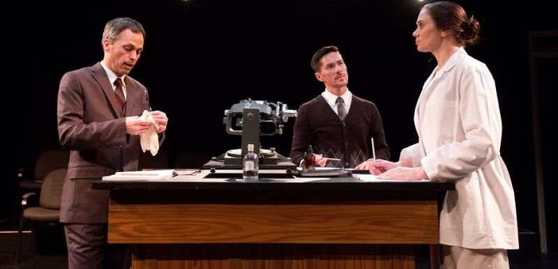 BWW Review: Talented Cast Shows there Is More than Science to Mad Cow's PHOTOGRAPH 51