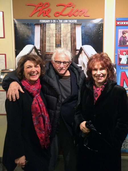 Angelina Fiordellisi, Joe Pintauro, Joy Behar