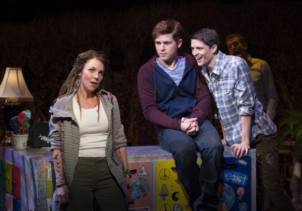 Sarah Litzsinger (Emily), Jake Winn (Luke), Parker Drown (Ensemble)