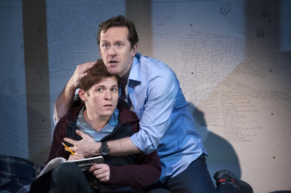 Jake Winn (Luke) and Jeffry Denman (Michael)