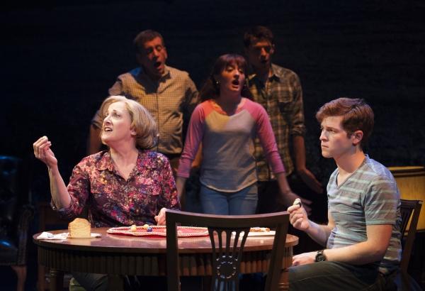 Donna Migliaccio (Gail), Bobby Smith (Ensemble), Laura Darrell (Ensemble), Parker Drown (Ensemble), Jake Winn (Luke)