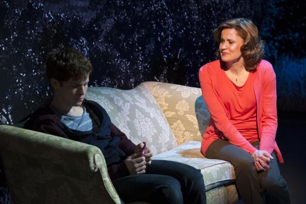 Jake Winn (Luke) and Christiane Noll (Eileen)