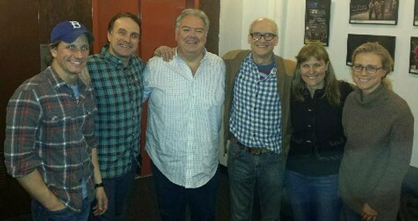 Photo Flash: PARKS AND REC's Jim O'Heir Visits TACT's ABUNDANCE Off-Broadway