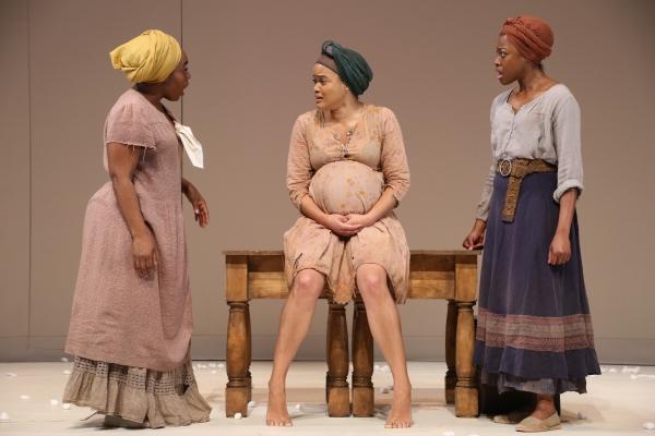 Maechi Aharanwa, Danielle Davenport, and Pascale Armand