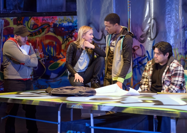 Photo Flash: First Look at Steppenwolf for Young Adults' THIS IS MODERN ART