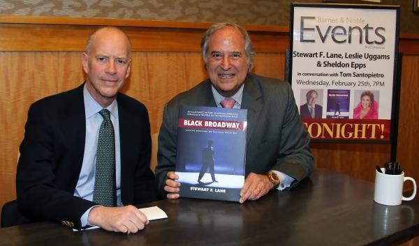 Event moderator Tom Santopietro and Stewart F. Lane