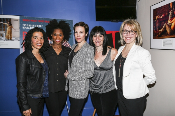 Tanya Barfield, Rachael Holmes, Rebecca Henderson, Leigh Silverman and Lisa McNulty