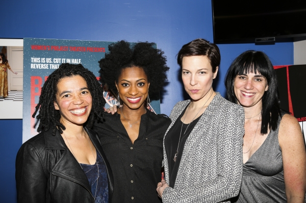 Tanya Barfield, Rachael Holmes, Rebecca Henderson and Leigh Silverman