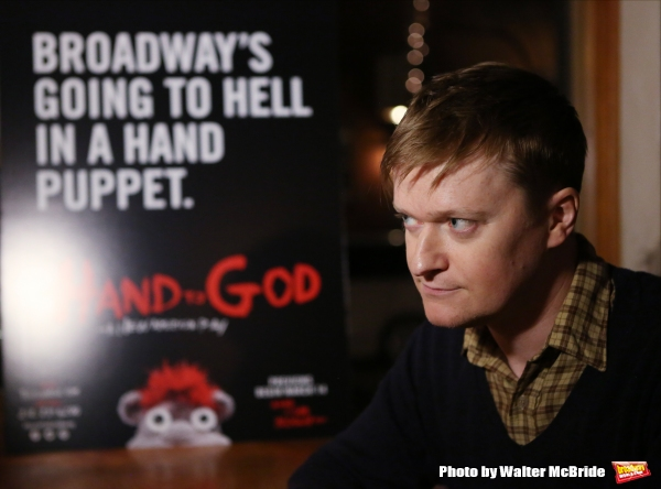 Photo Coverage: Tyrone's Back! Meet the Company of HAND TO GOD on Broadway!