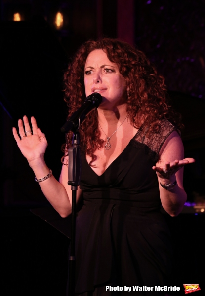 Photo Coverage: Kelli Rabke Previews 54 SINGS MACK & MABEL