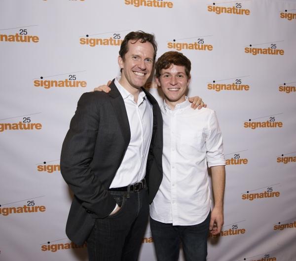 Photo Flash: John Kander, Greg Pierce and More Celebrate KID VICTORY Opening at Signature Theatre