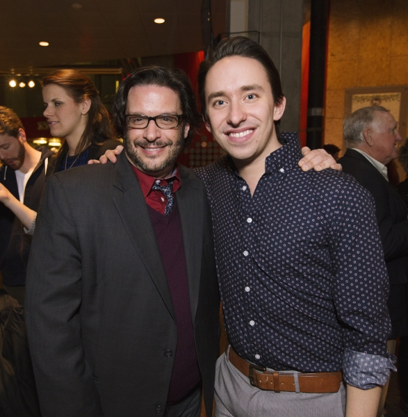 Signature Theatre Resident Director of New Work Joe Calarco and Associate Artistic Director Matthew Gardiner