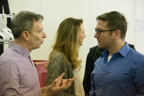 First rehearsal of THE 39 STEPS off-Broadway Photo