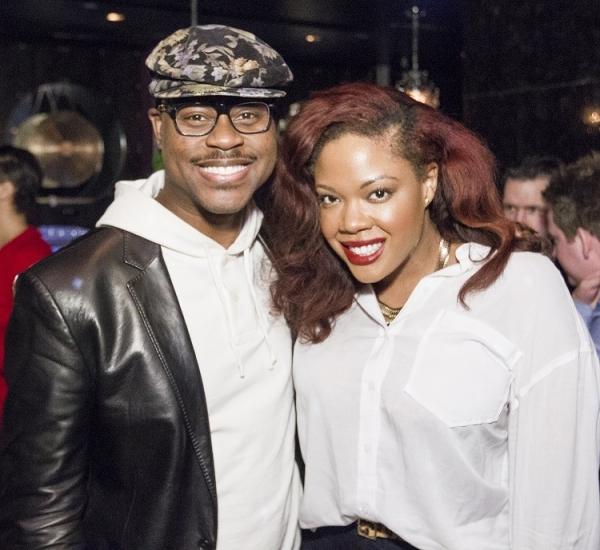 Gospel artists Charles Jenkins and Jessica Love
