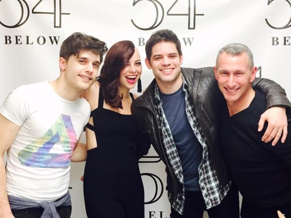 Andy Mientus, Krysta Rodriguez, Jeremy Jordan