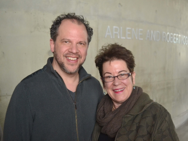 Director Aaron Posner and Artistic Director Molly Smith