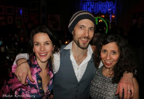 Carolyn, Michael and Jamie Leonhart Photo
