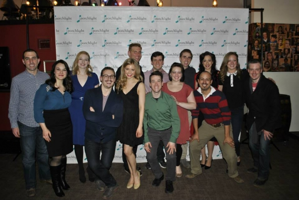 Cast of Porchlight Revisits... City of Angels With Brian Zane, Emily Goldberg, Stephanie Souza Rasmann, City of Angels Director Christopher Pazdernik, Kim Green, Brandon Dahlquist, Andrew Lund, Matt Edmonds, Missy Aguilar, Nathan Mittleman, Apollo Apodaca
