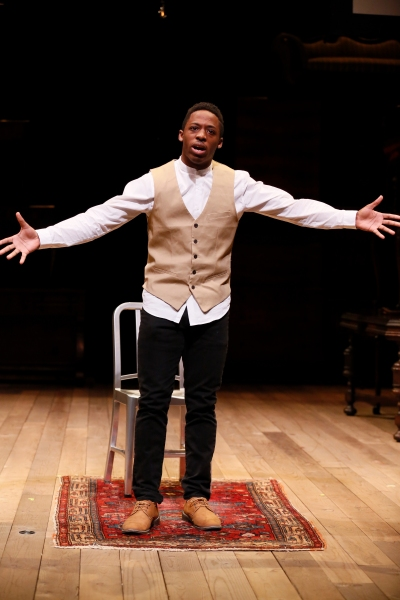 Photo Flash: Shaila Essley Takes 1st Place in CTG's 2015 August Wilson Monologue Competition