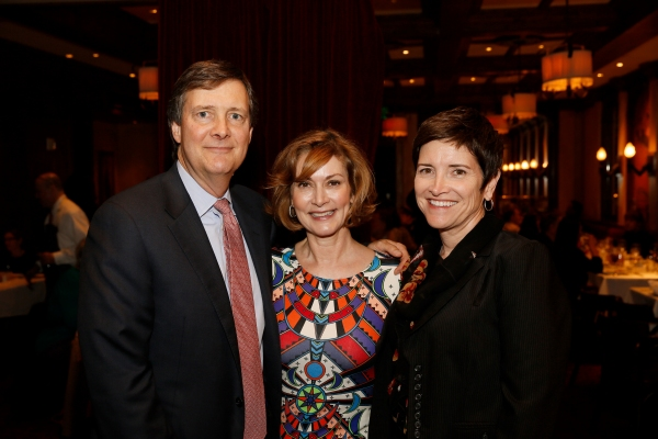 Jim Bruner, Anne Bruner, CTG President of the Affiliates and Kiki Ramos Gindler, CTG  Photo