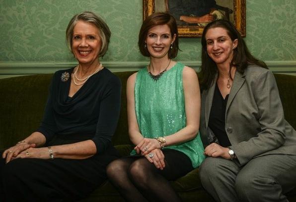 Carole Monferdini, Cadden Jones and Dev Bondarin Photo