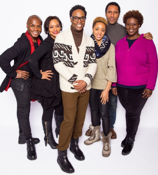 Capathia Jenkins, Nathan Lee Graham, Rema Webb, Shayna Small, and director Billy Porter