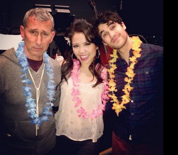 Adam Shankman, Catherine Ricafort, Darren Criss