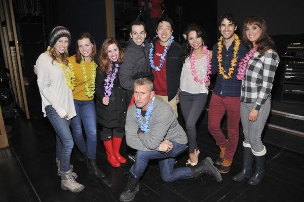 HONEYMOON IN VEGAS Cast, Darren Criss, Adam Shankman