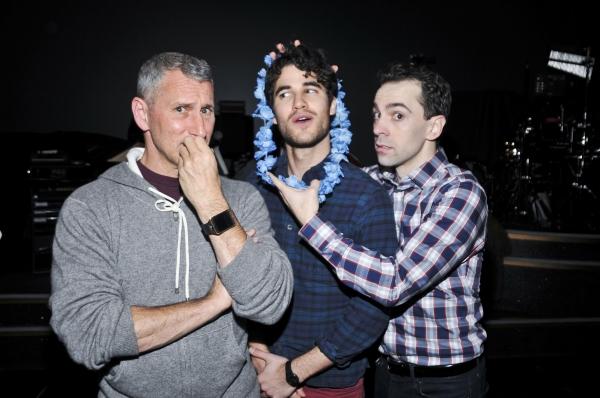 Adam Shankman, Darren Criss, Rob McClure