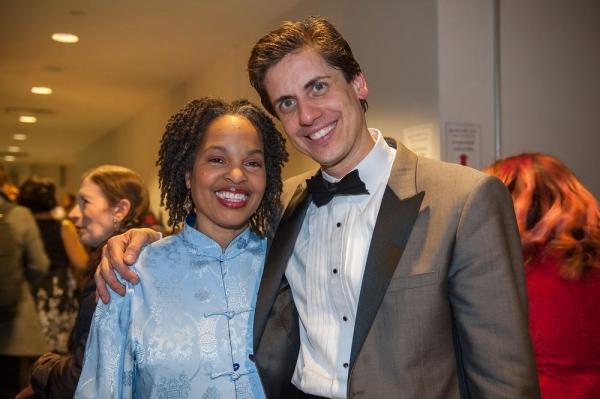 YPC choreographer extraordinaire Jacquie Bird with Francisco Nunez