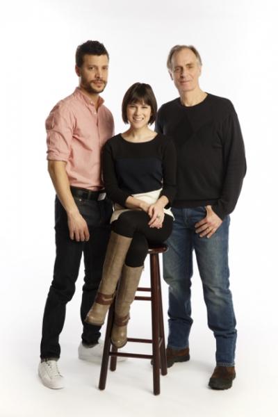 Justin Guarini, Alexandra Socha, Keith Carradine
