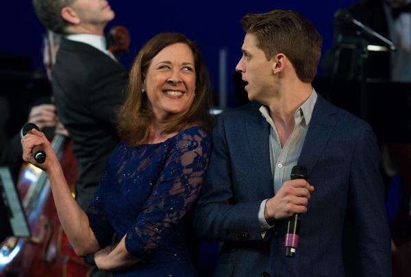 Karen Ziemba and Bruce Landry