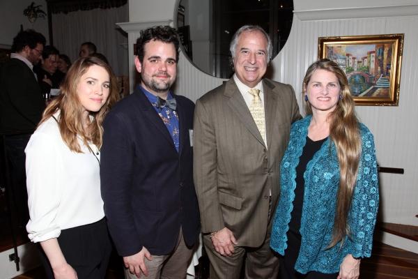 Sara Chase, Greg Hildreth, Stewart F. Lane, Bonnie Comley Photo